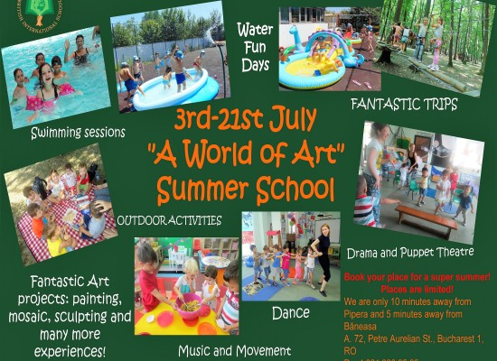 "King's Oak Summer School – ""A World of Art"""