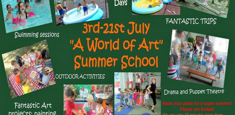 "King's Oak Summer School – ""A World of Art"""