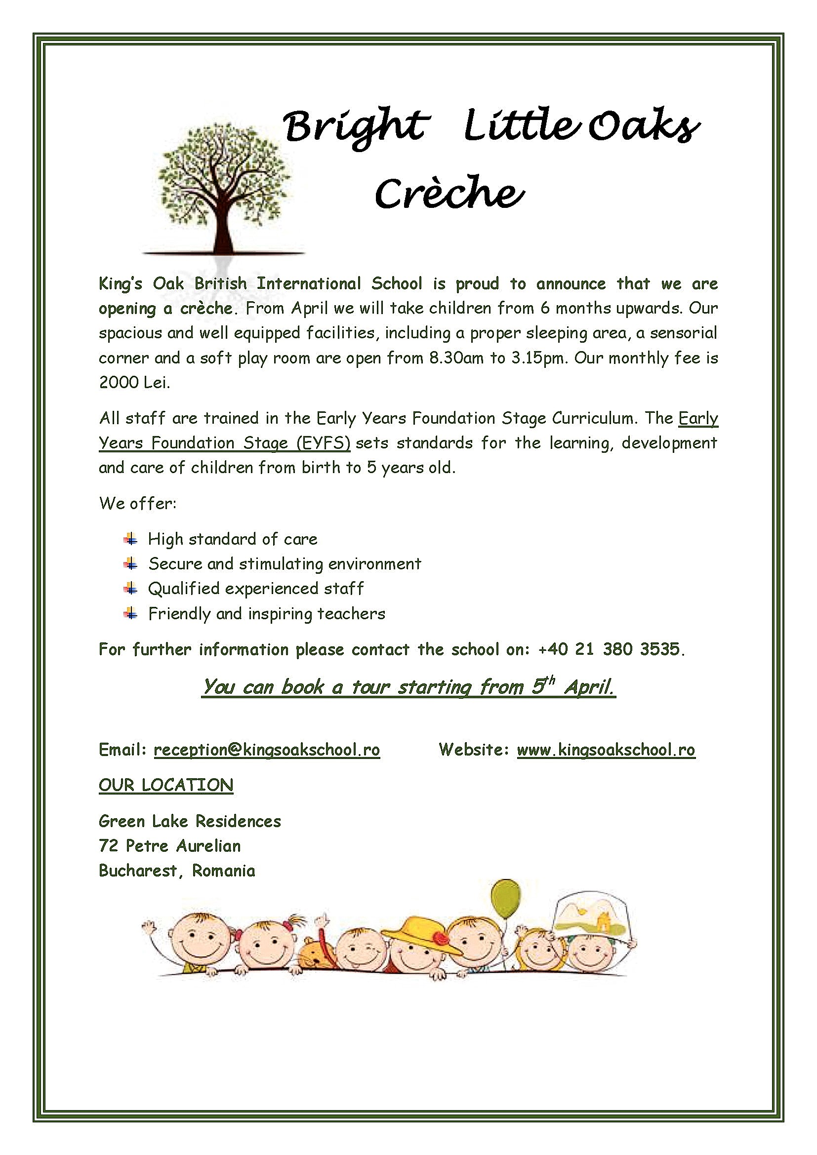 creche announcement (1)